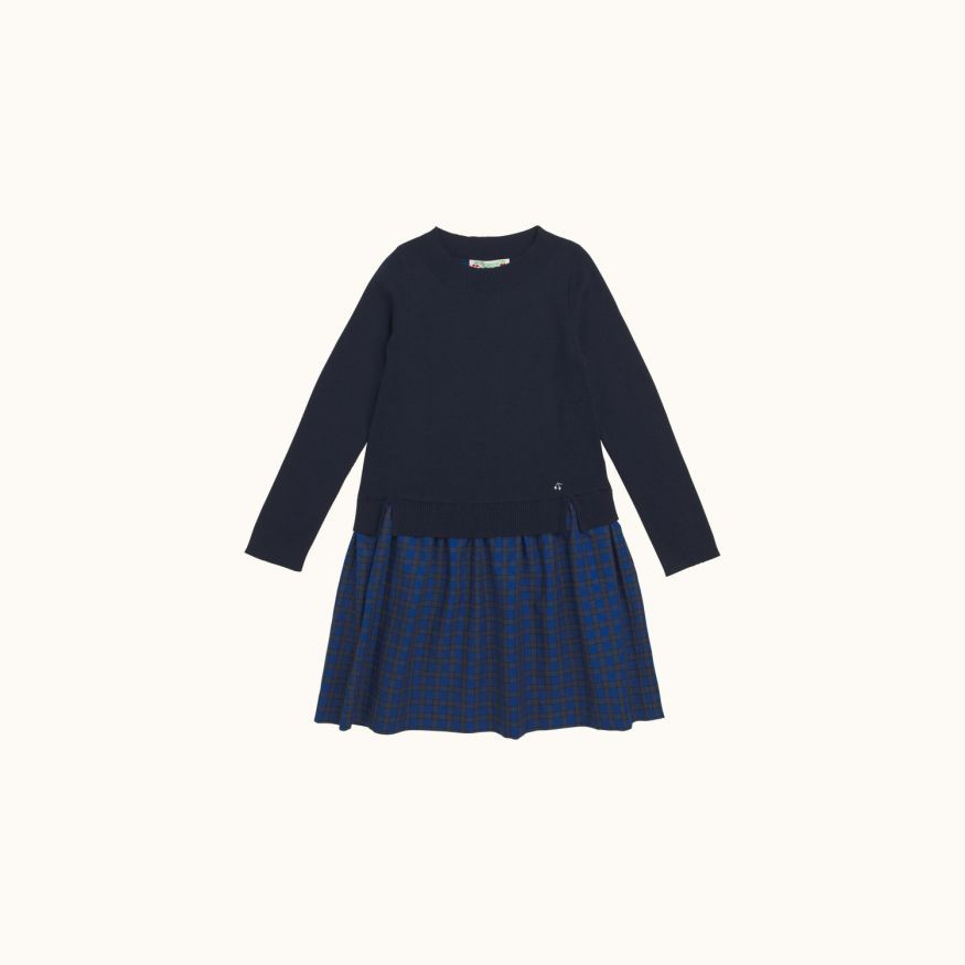 Girls' dress Navy