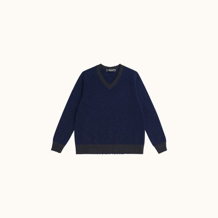 Children's sweater Indigo