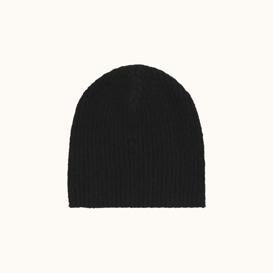 Cashmere hat black