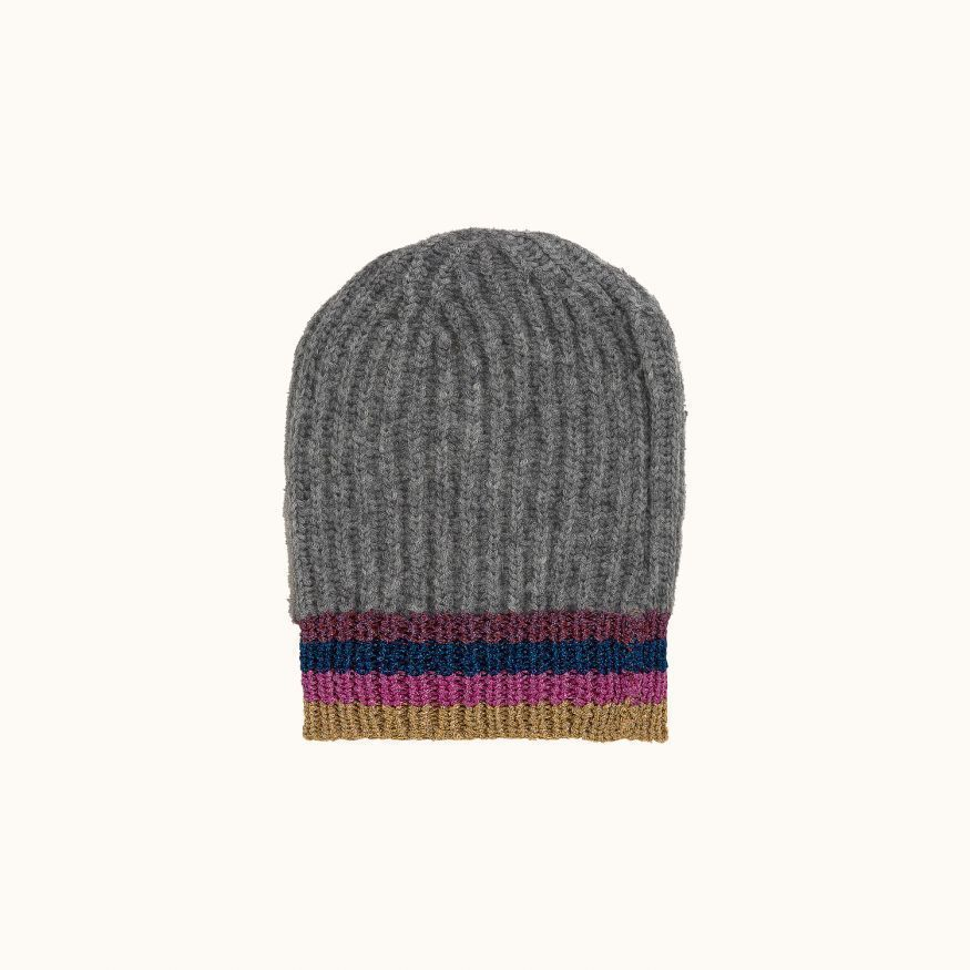 Children's hat Light heathered gray