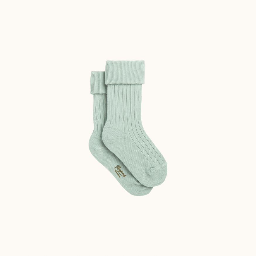Socks gray blue