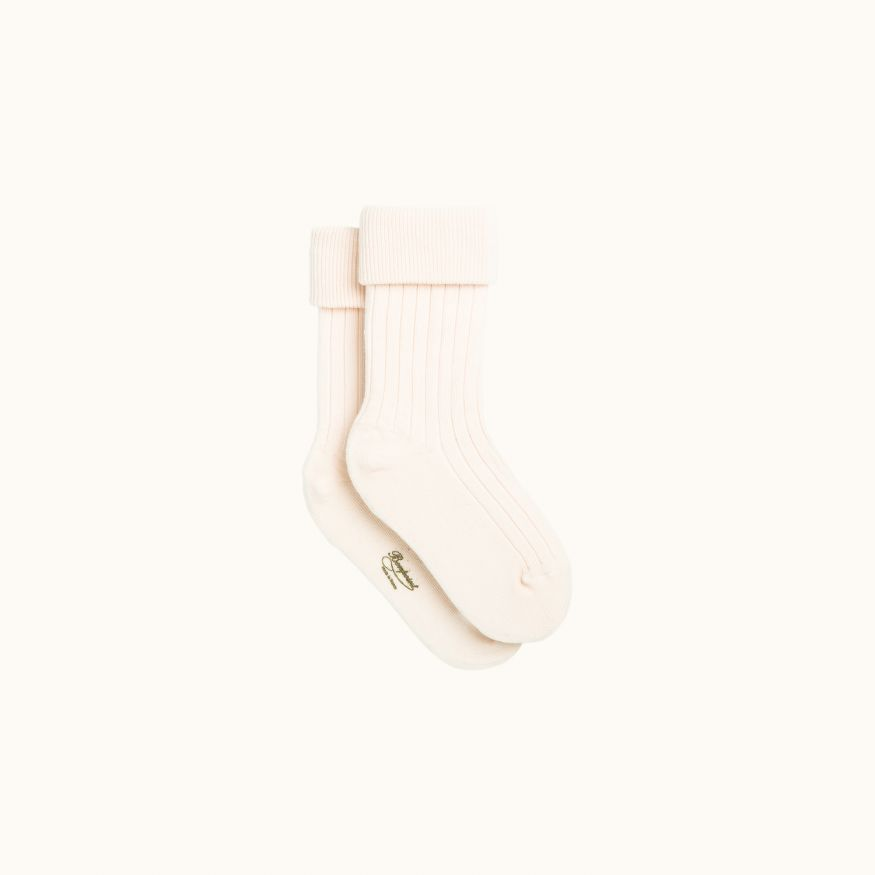 Socks pale pink
