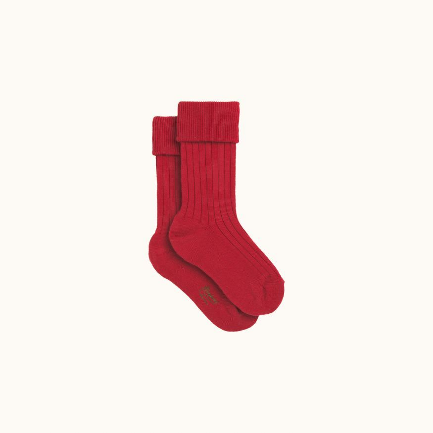 Socks terracotta