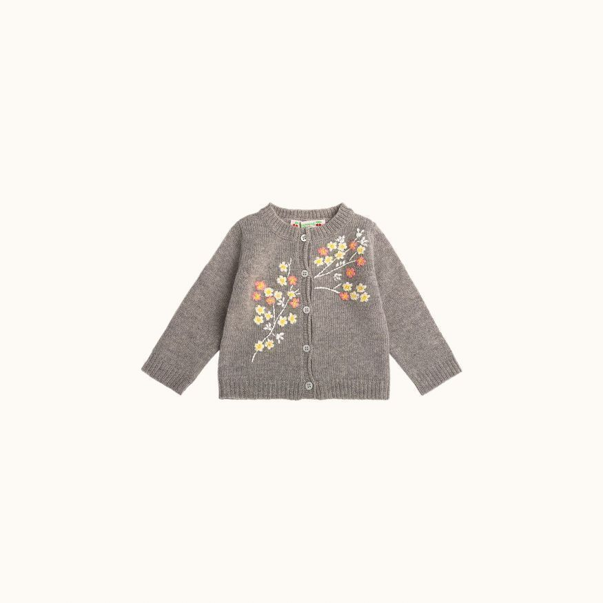 Children's cardigan Light heathered gray