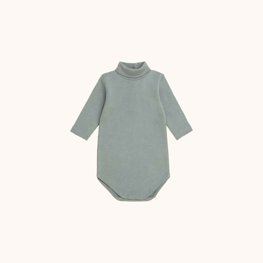 Babies' bodysuit Gray blue