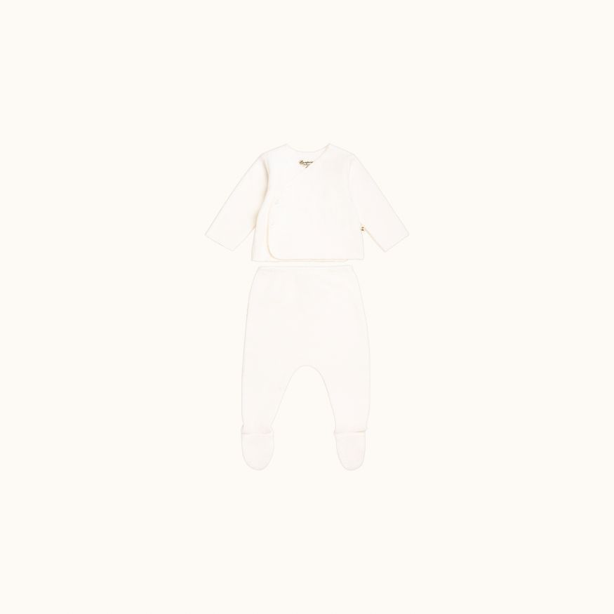 Babies' set Milk white
