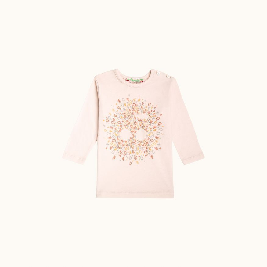 T-shirt Powder pink