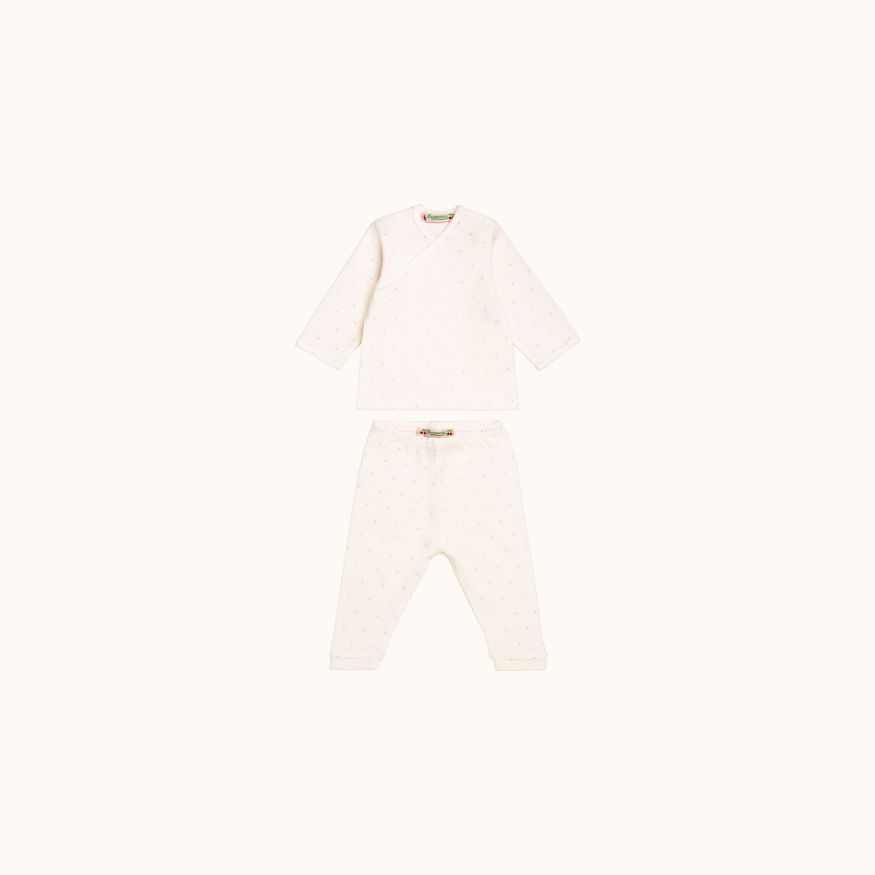 Babies' set Natural white