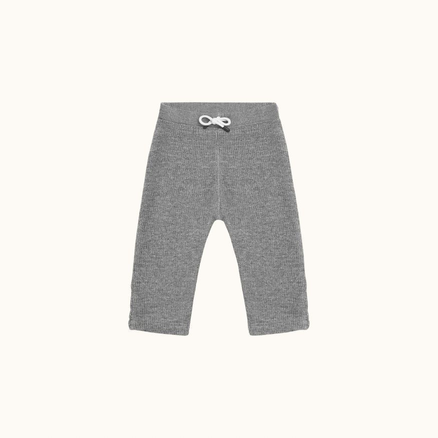 Babies' sweatpants Light heathered gray