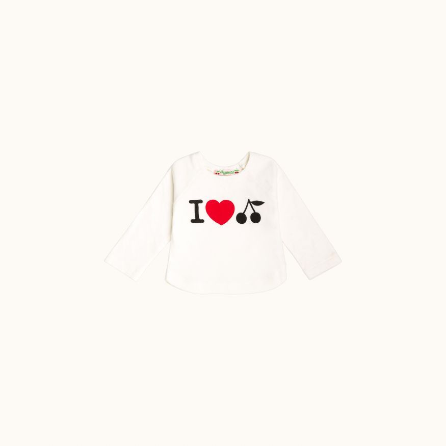 Children's T-shirt Milk white