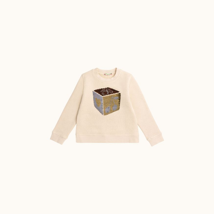 Children's sweatshirt Ecru