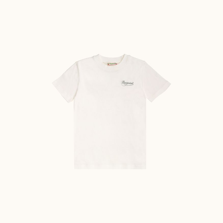 T-shirt Milk white