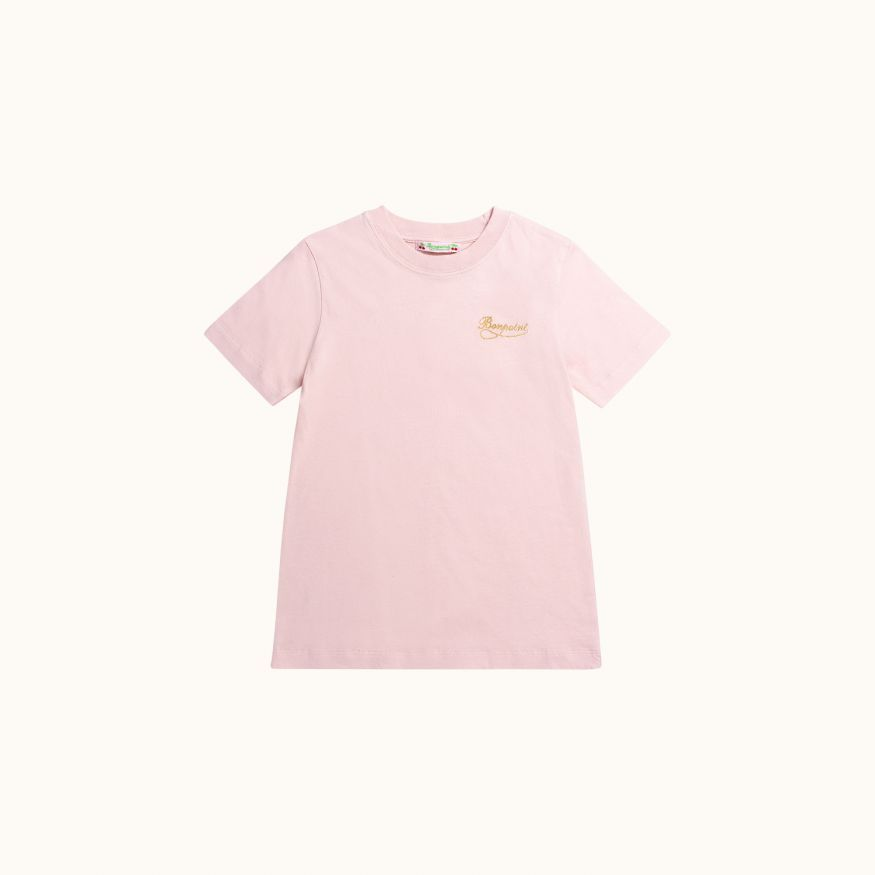 T-shirt Rose moyen