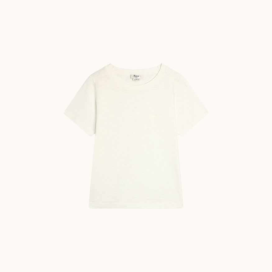 Short-sleeved t-shirt ecru