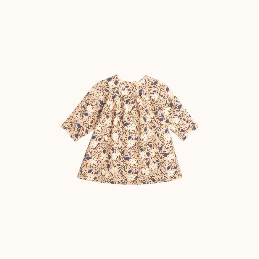 Daphne babies' dress nude