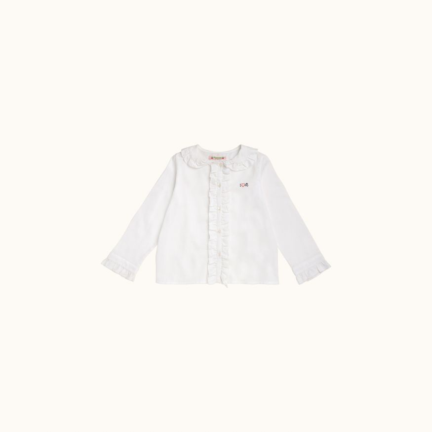 Darline children's blouse Milk white
