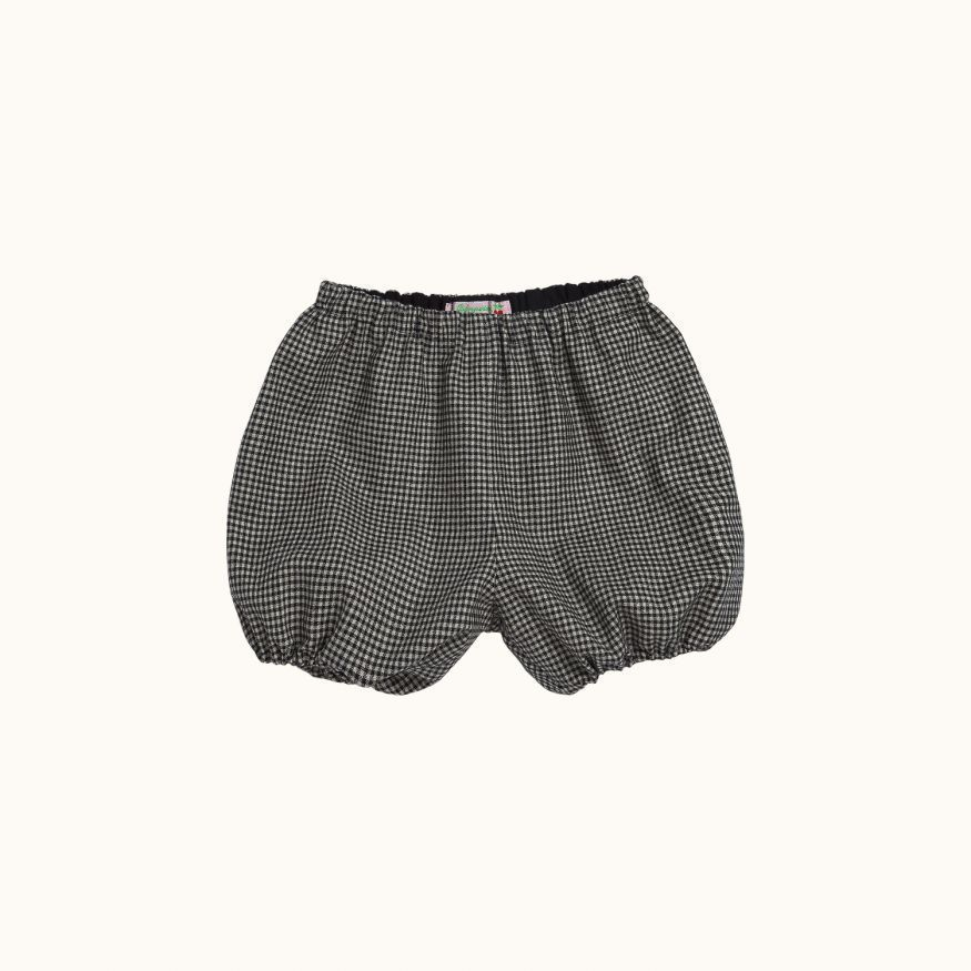Doumi bloomers Black check