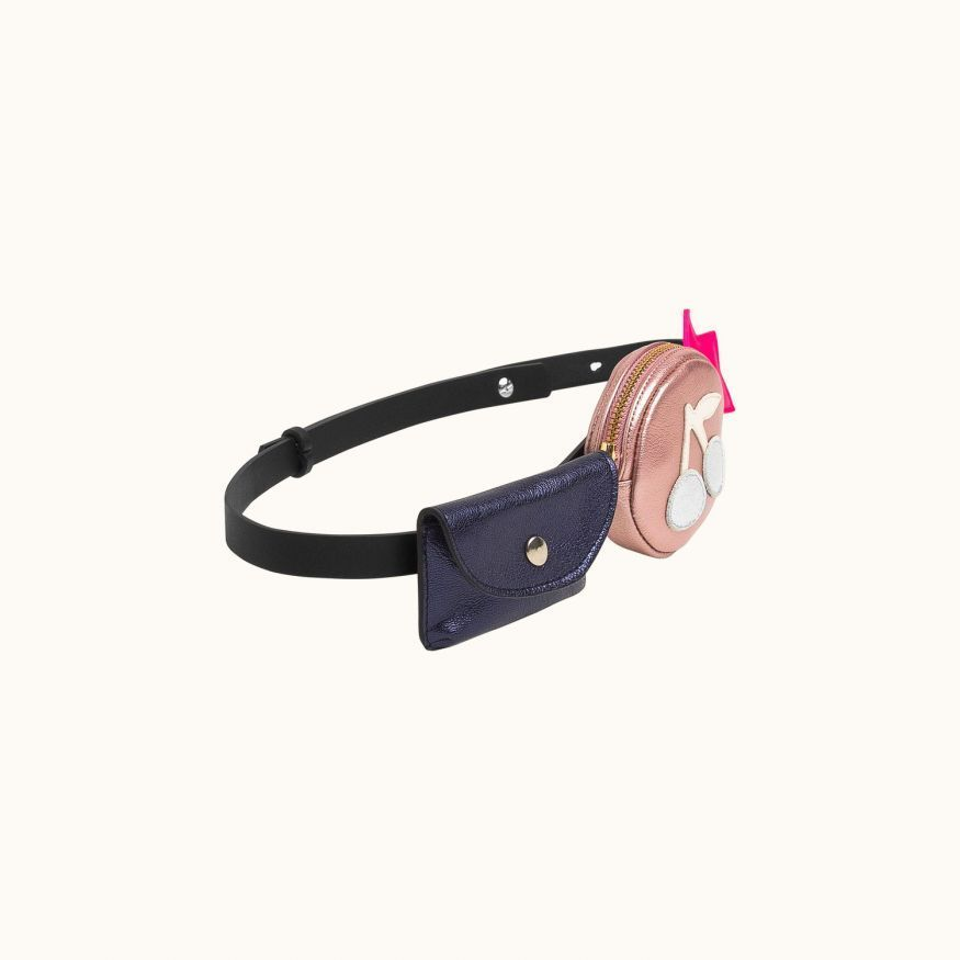 Children's multipocket belt Black