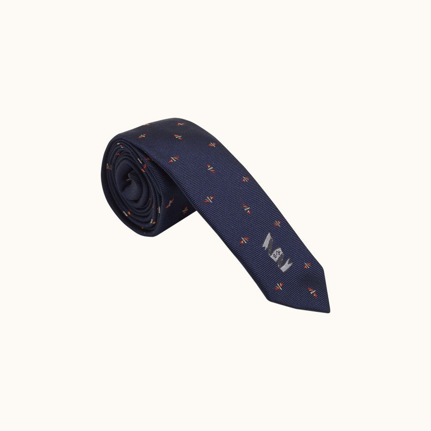 Children's tie Navy