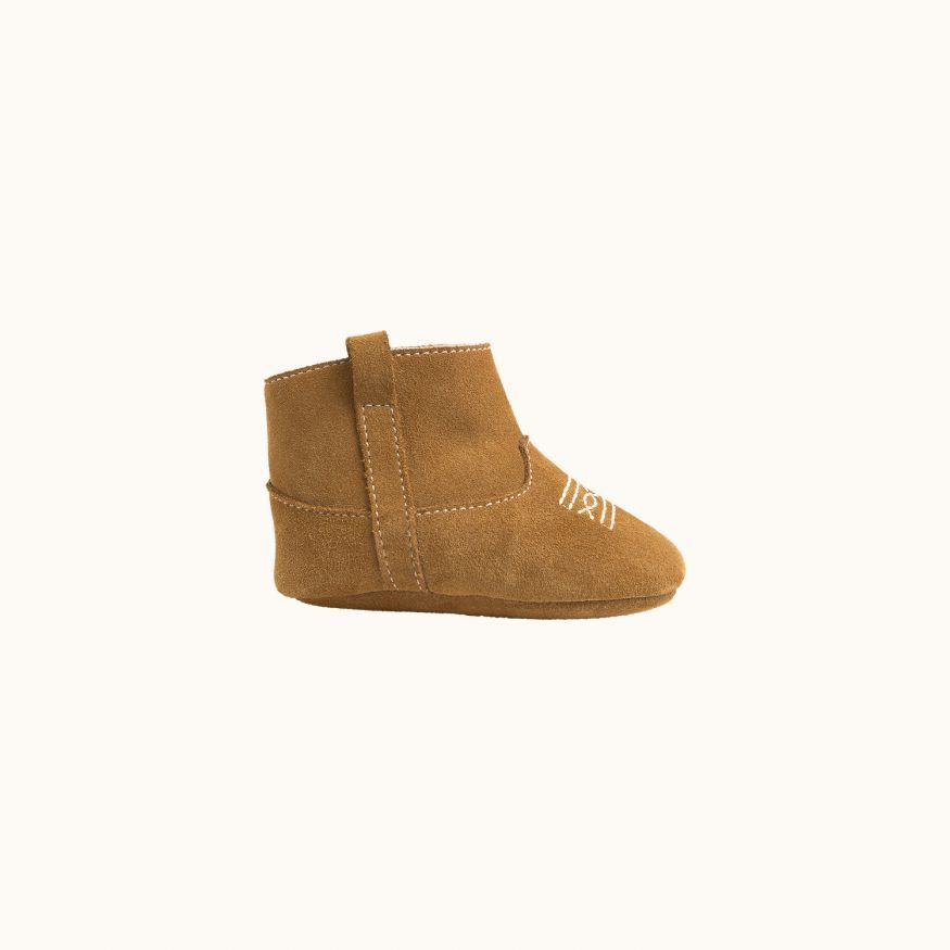 Bottines West Bébé Camel
