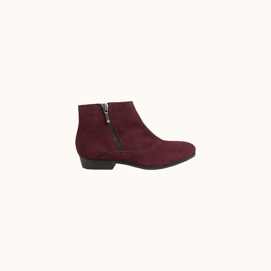 Eagle ankle boots grape