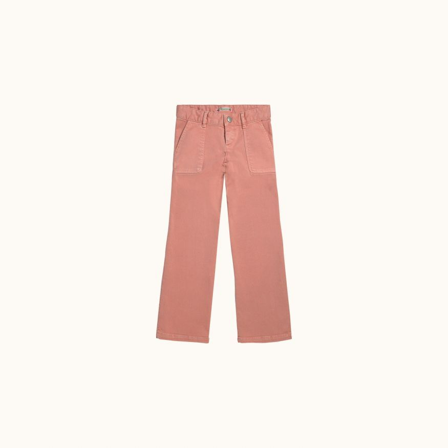 File pants tea rose