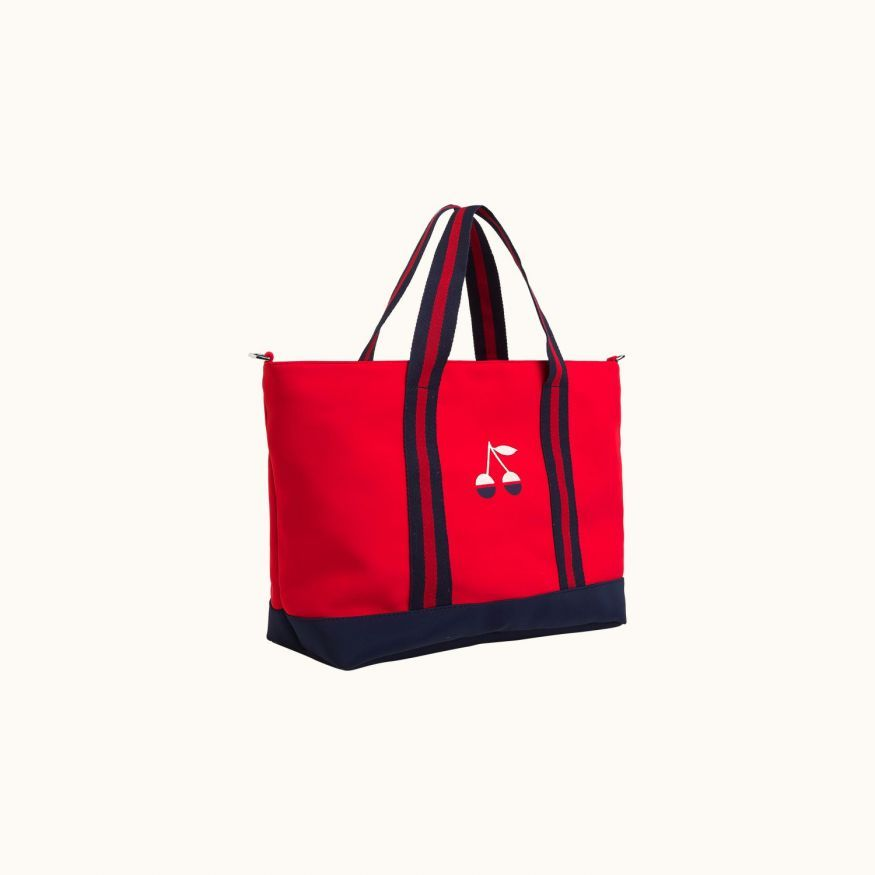 Children's tote bag Red