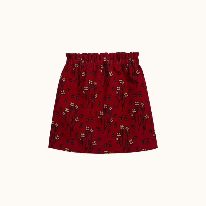 Fluette girls' skirt Red