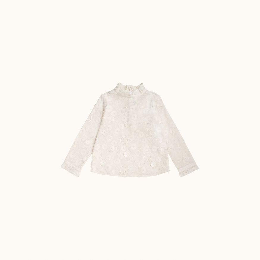 Joy blouse milk white