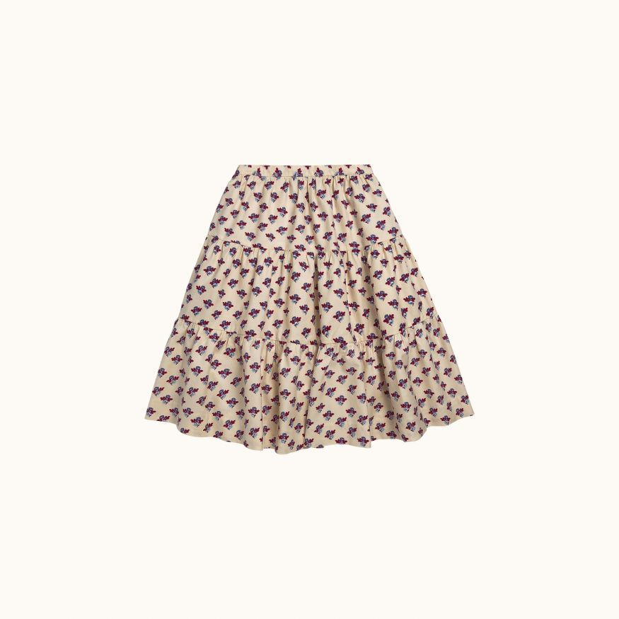 Lise girls' skirt plum