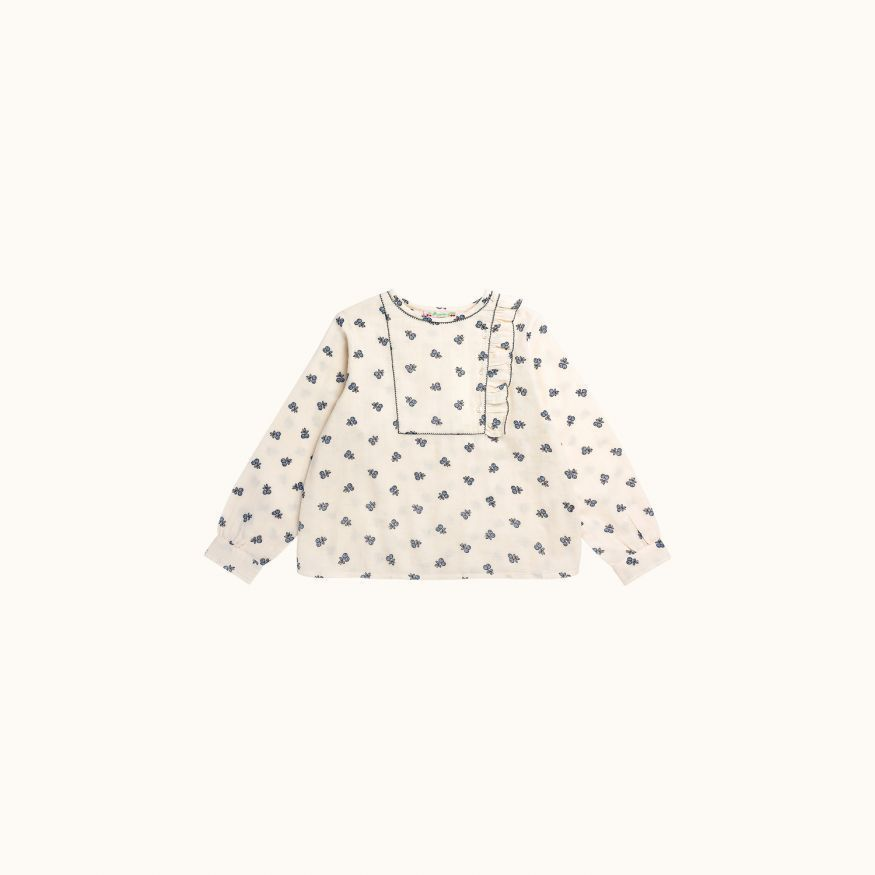 Mae children's blouse Ecru