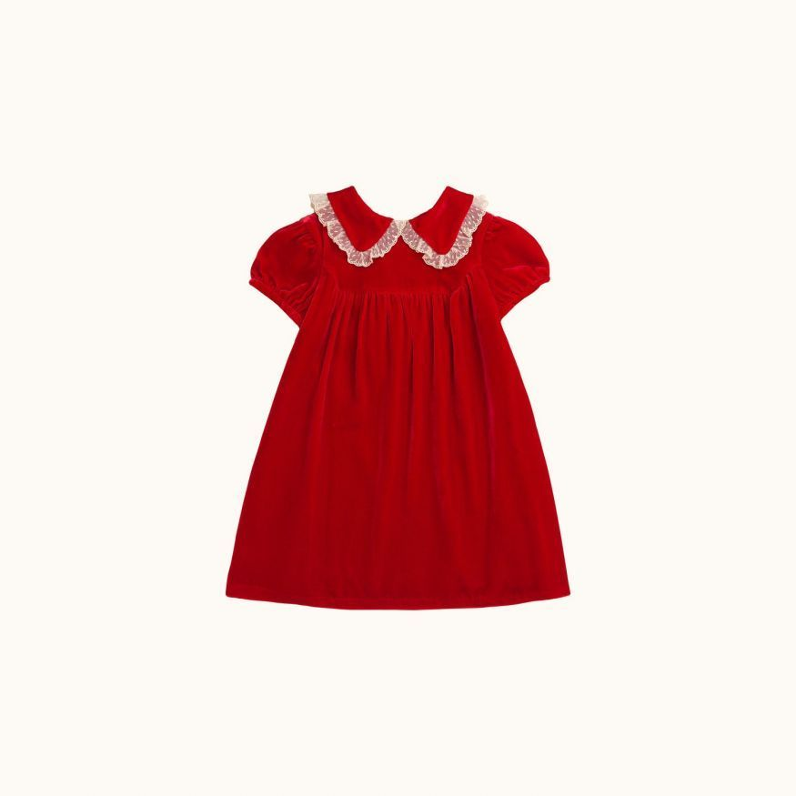 Robe Magie fille rouge