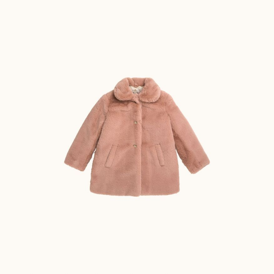 Maisie coat Powder pink