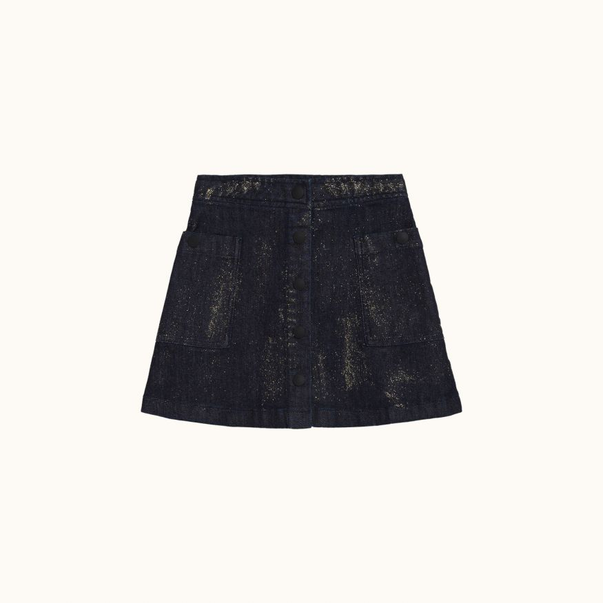 Mallory skirt Dark denim