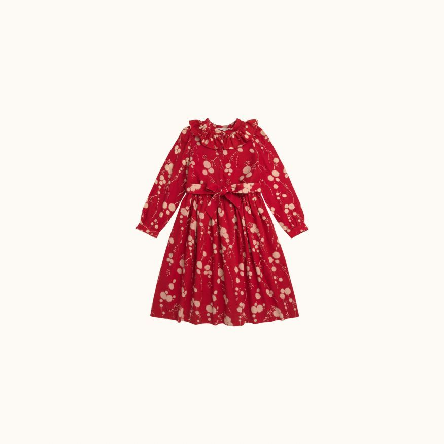 Margot girls' dress terracotta