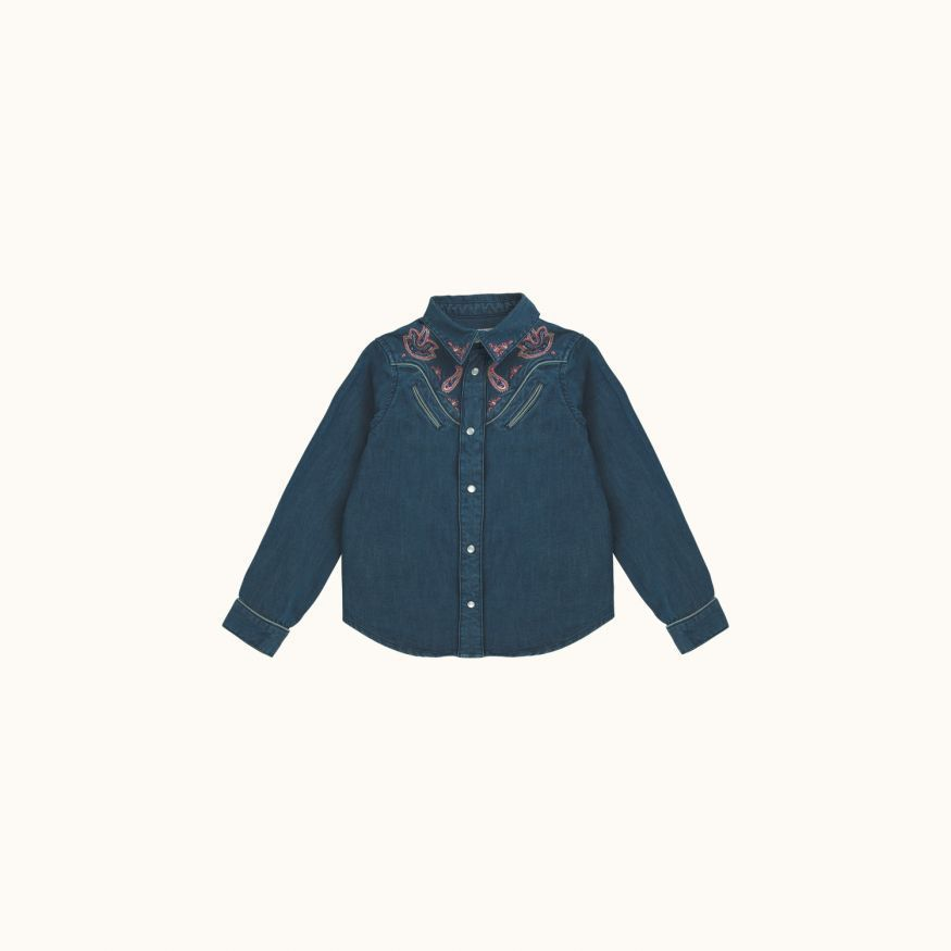 Marie shirt Pale denim
