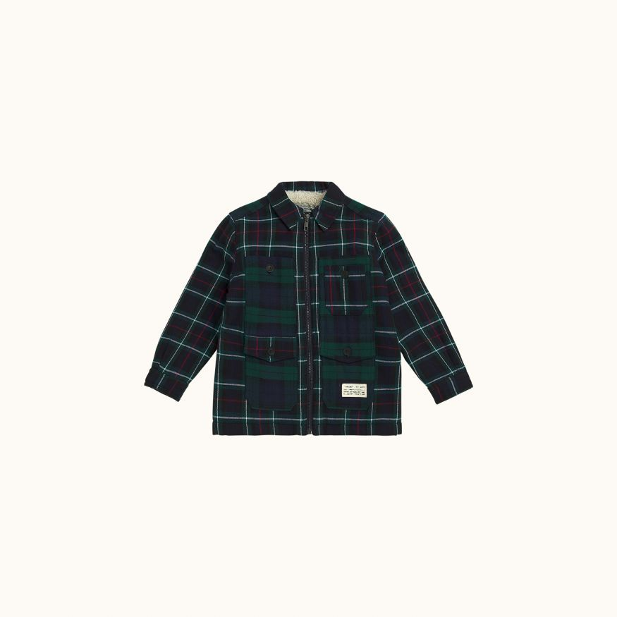 Max shirt Navy check