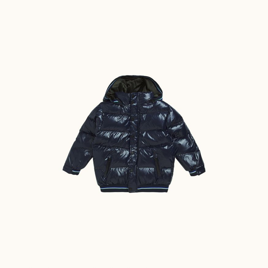 Memphis puffer jacket Ink