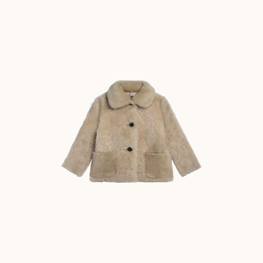 Meribel coat Ecru