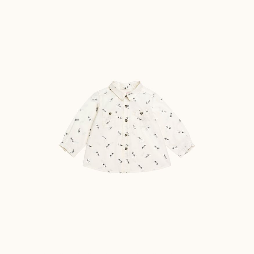 Mico shirt Printed white