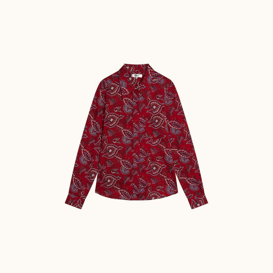 Milane shirt red