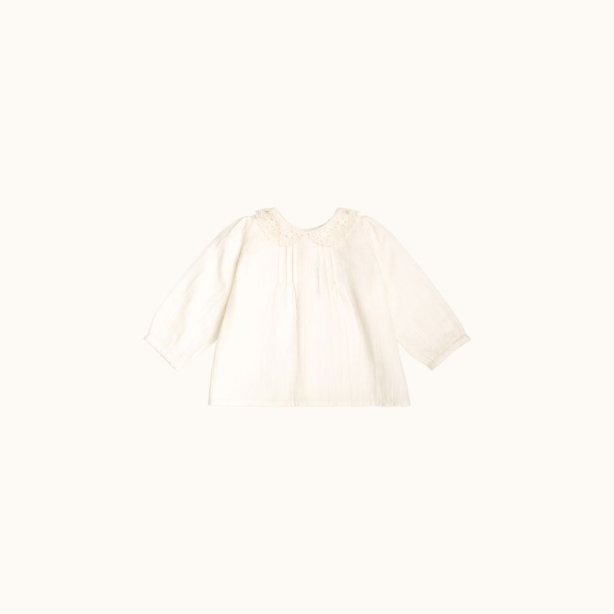 Mimosa blouse Milk white