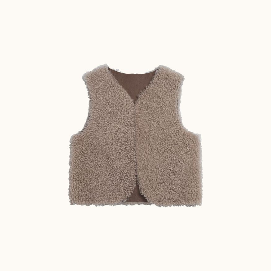 Mine cardigan taupe