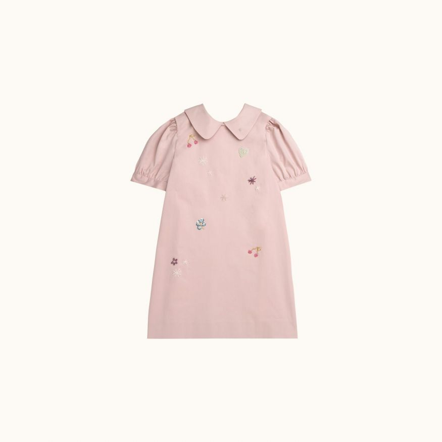 Girls' Mirabel dress Faded pink