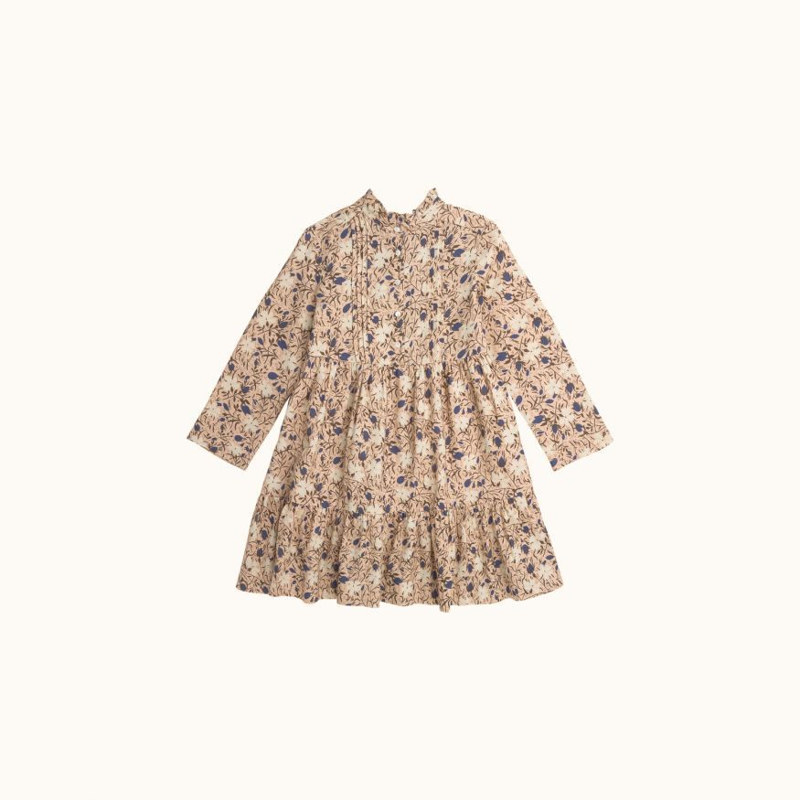 Girls' Miranda dress Nude