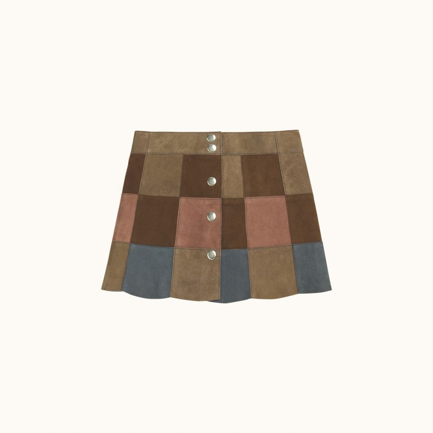 Mixie girls' skirt Multicolor