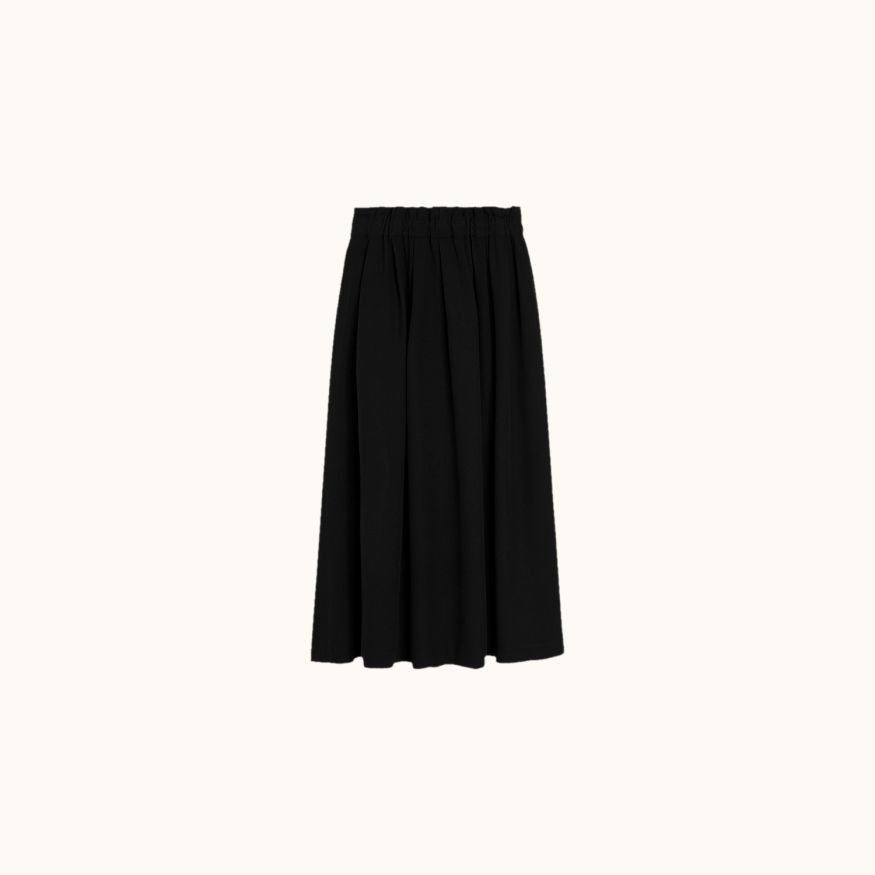 Long Morgan skirt Black