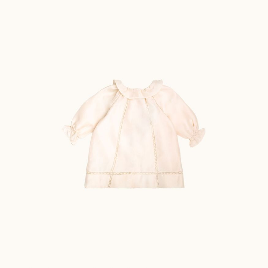 Mûre babies' dress Milk white