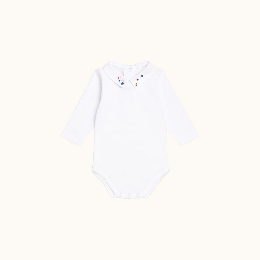 Septembre onesie Northern blue