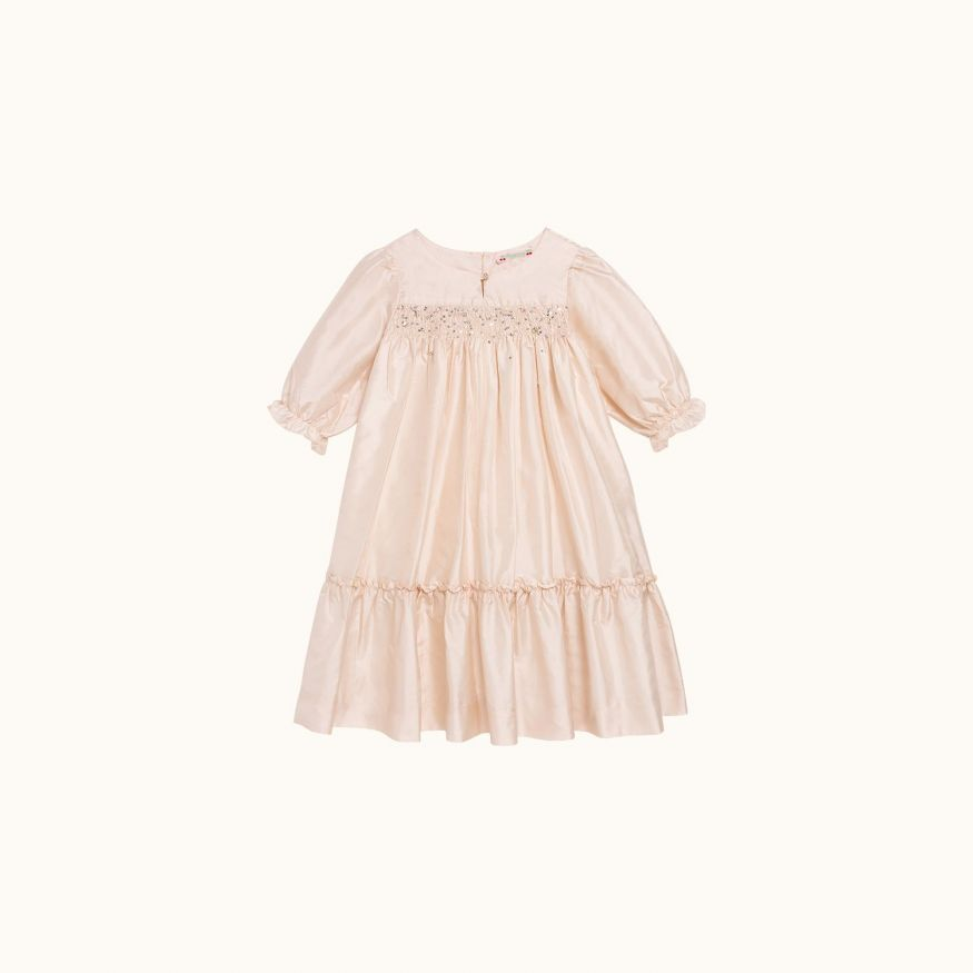 Robe habillée Brillant Fille rose pâle